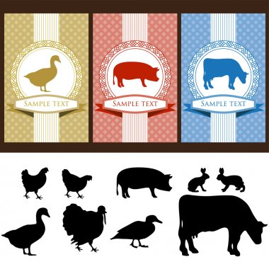 Labels food
