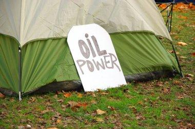 Oil Power Sign
