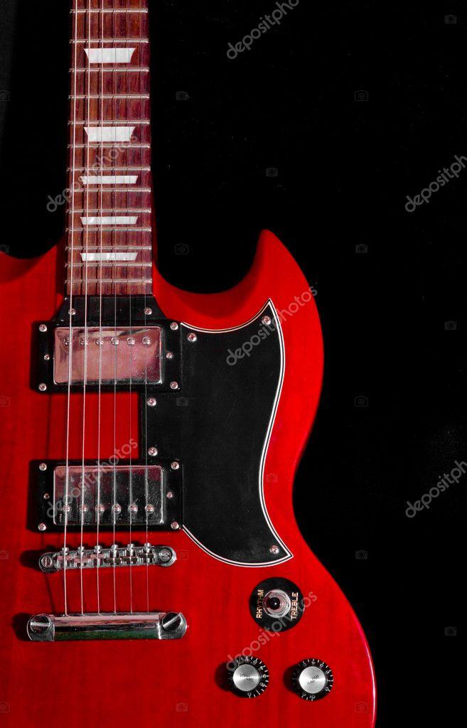 Gibson Sg — Stock Photo © daryamalysh149 #8959075
