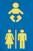Fotografie WC-Schild