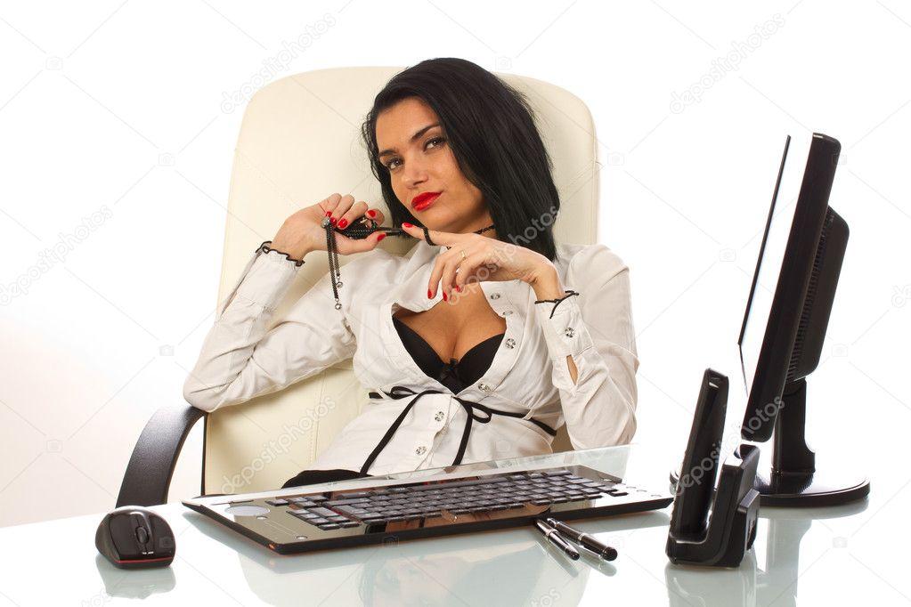 Сексуальные секретарь