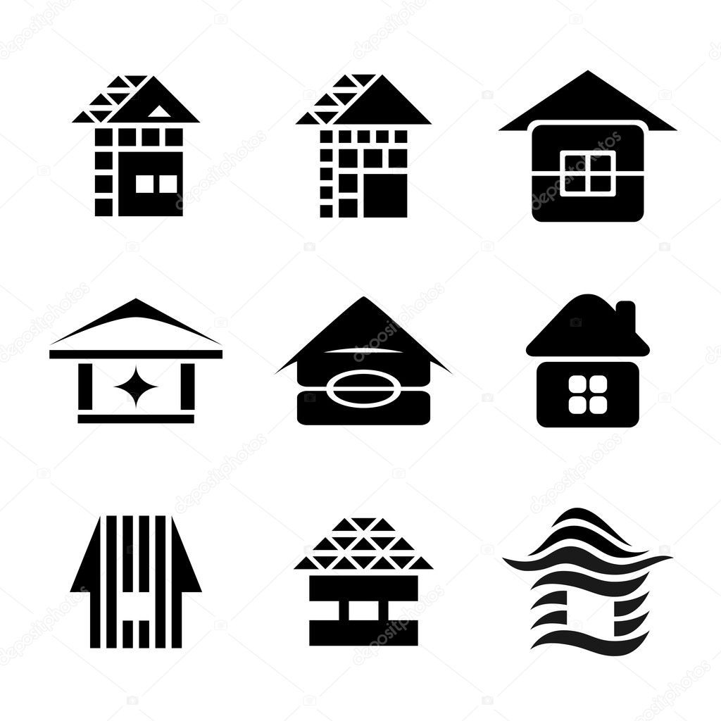 House symbols stock vector zubroffka 10709517 for House music symbol