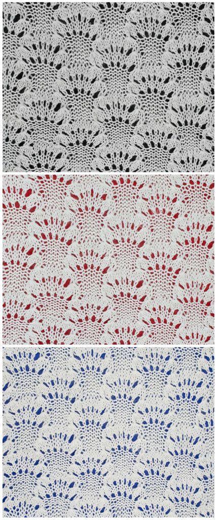 patrón de punto blanco sobre fondo negro, azul y rojo — Fotos de ...