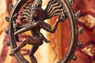 Close-Up of Shiva Statue