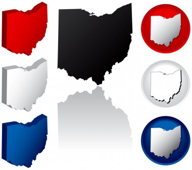 State of Ohio Icons