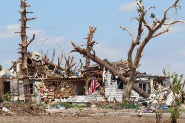 EF5 Tornado Damage Home