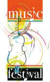 Hudební festival. vektorové ilustrace