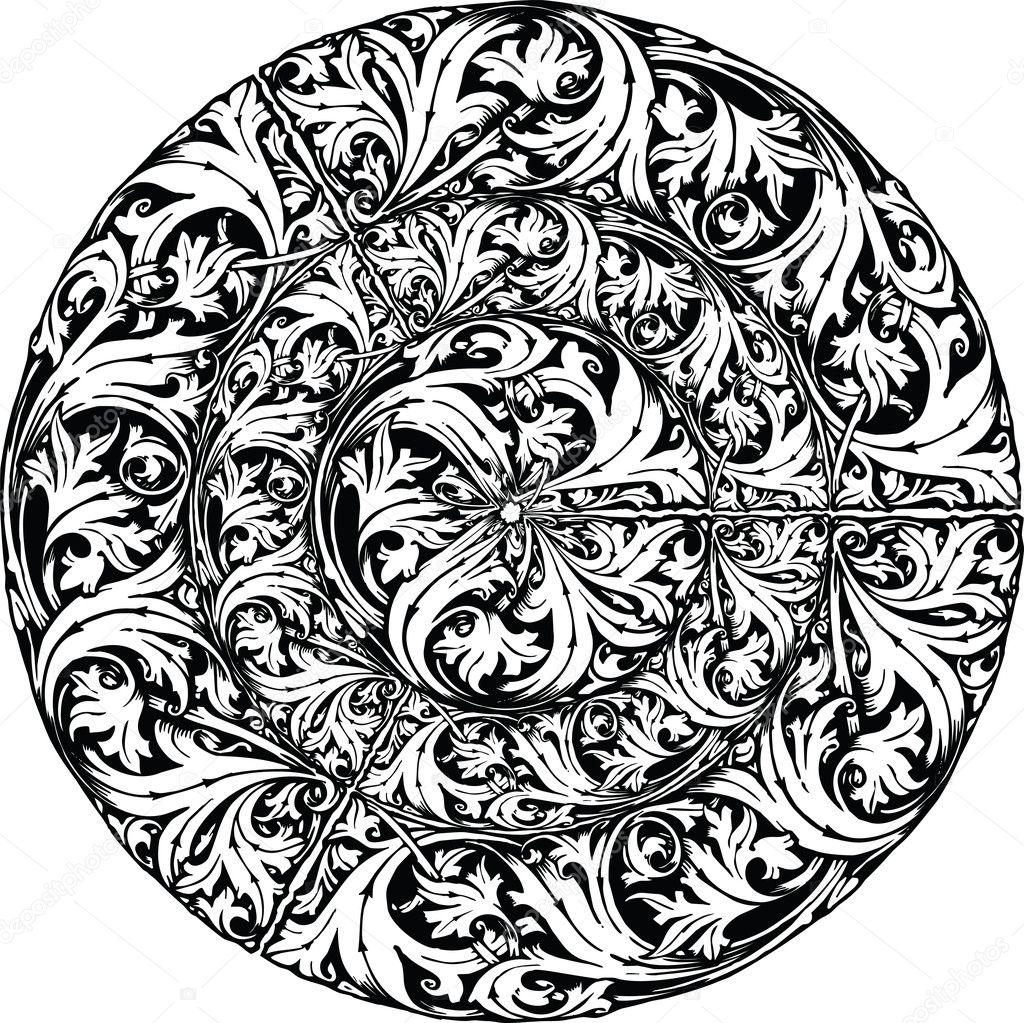 vector seamless renaissance wallpaper - photo #28