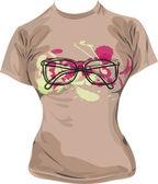 tričko ilustrace