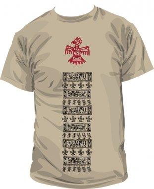 Ancient t-shirt illustration