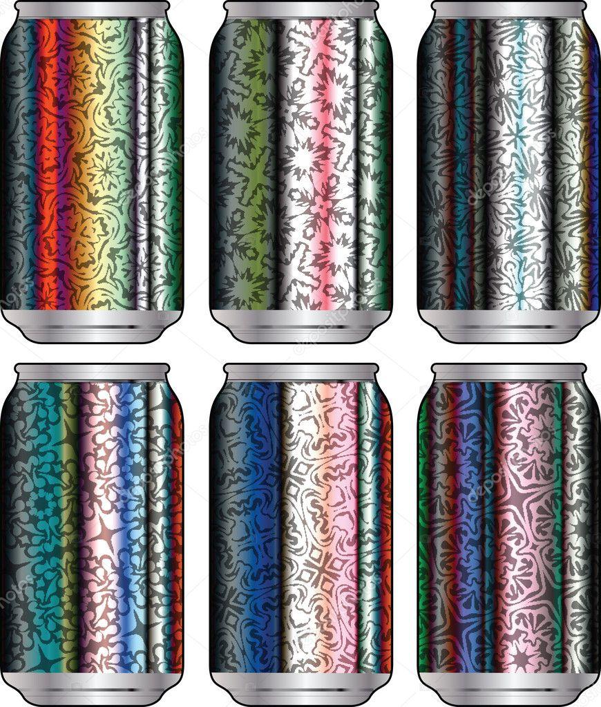 Packaging 37 Diseños De Envases Con Aluminio: Envases De Aluminio Para Bebidas Con Diseño Fresco