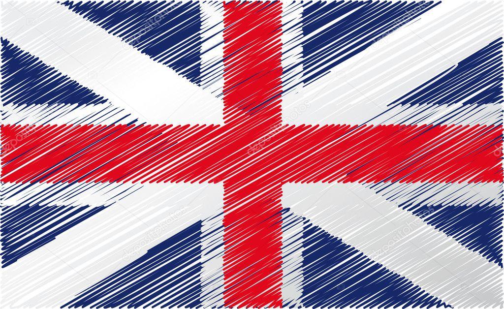 С британским флагом картинки