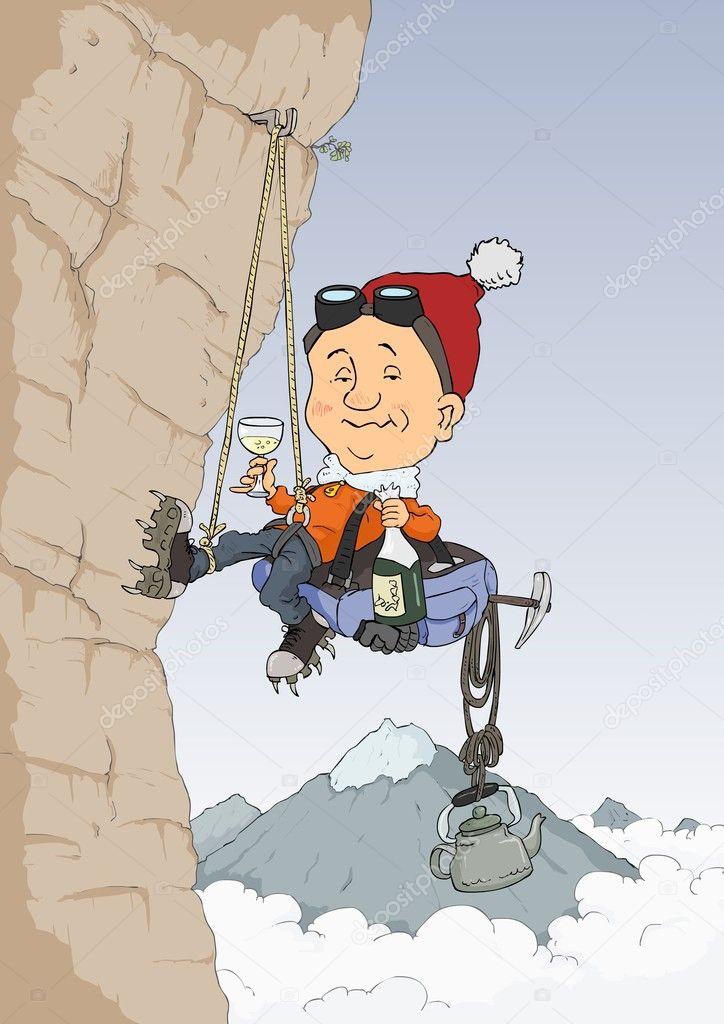 С днем рождения альпинисту открытки