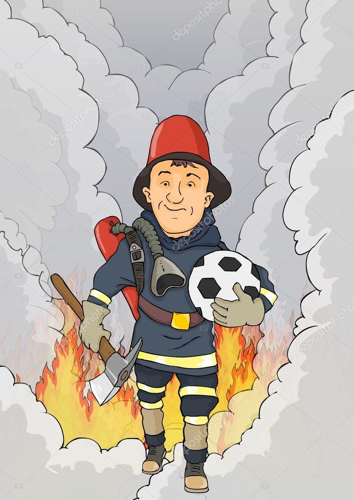 Животные надписями, пожарник смешные картинки