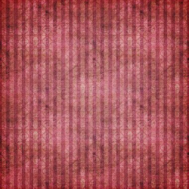Shaded Grungy Red Stripe Background Wallpaper