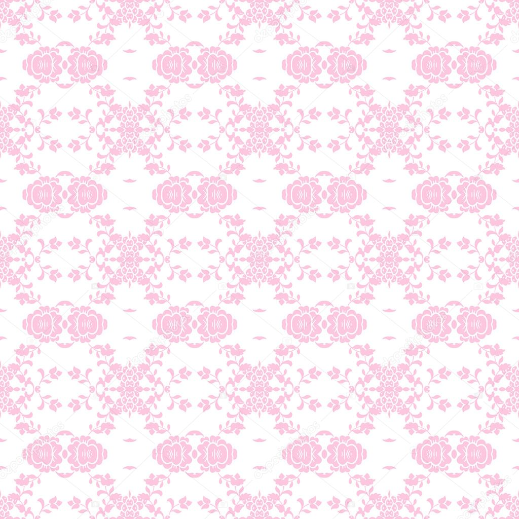 Baby Pink Vine And Cer Elements In A Damask Style Pattern Photo By Pixels