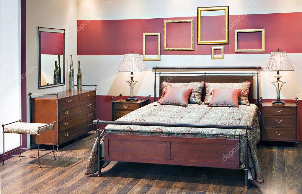 romantische slaapkamer — Stockfoto © nastazia #10591551
