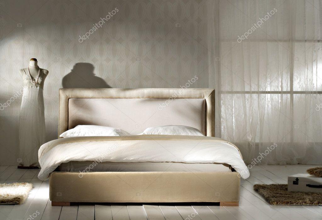 Sypialnia W Stylu Retro Zdjęcie Stockowe Nastazia 9145697