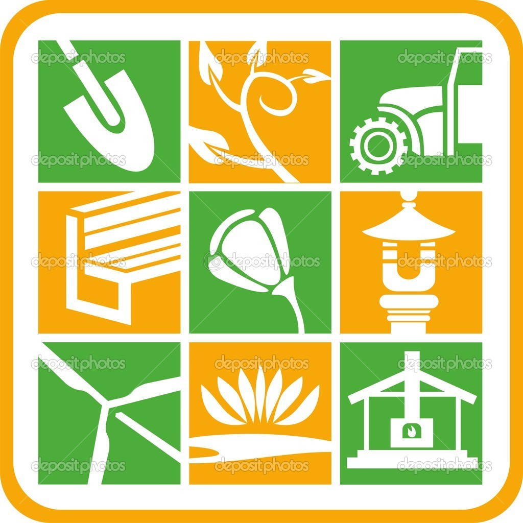 Landscape and Gardening Icons