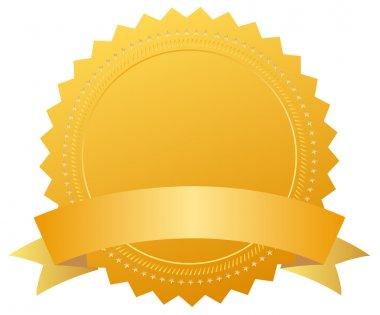 Blank award medal