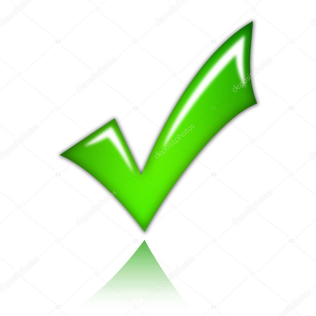 Fondo Tick Sin Marca De Verificación Tick Foto De Stock