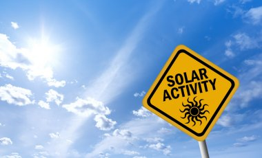 Solar activity sign
