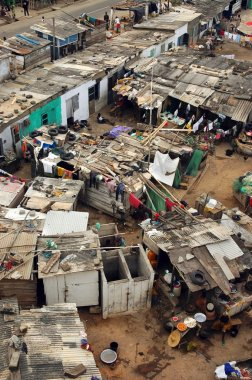 Cape Coast fishing houses and community