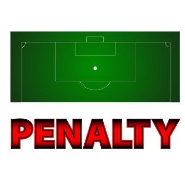 Football - penalty symbol