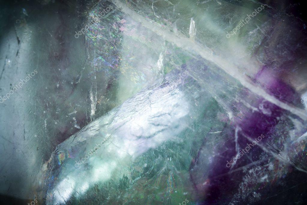 Macro shoot of Fluorite