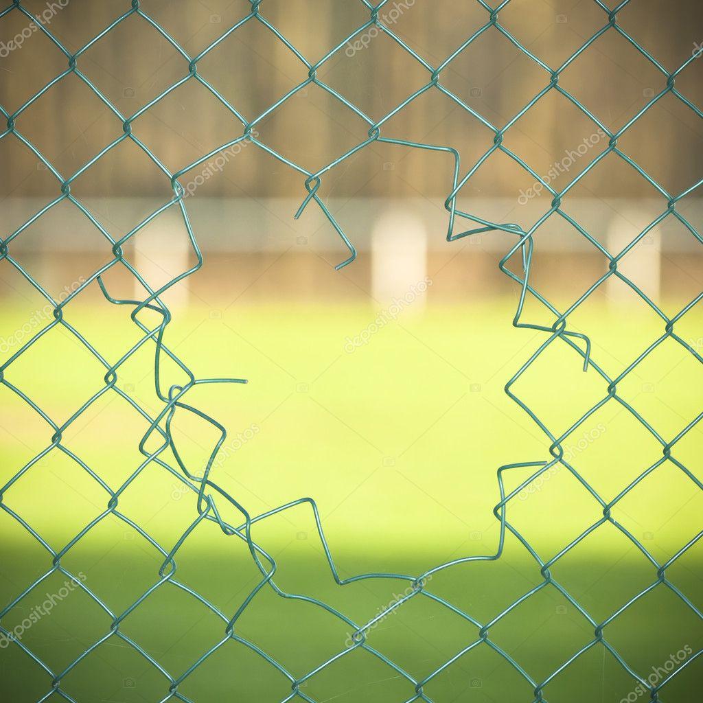 Cut fence