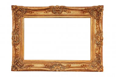 Gilt frame in ancient style