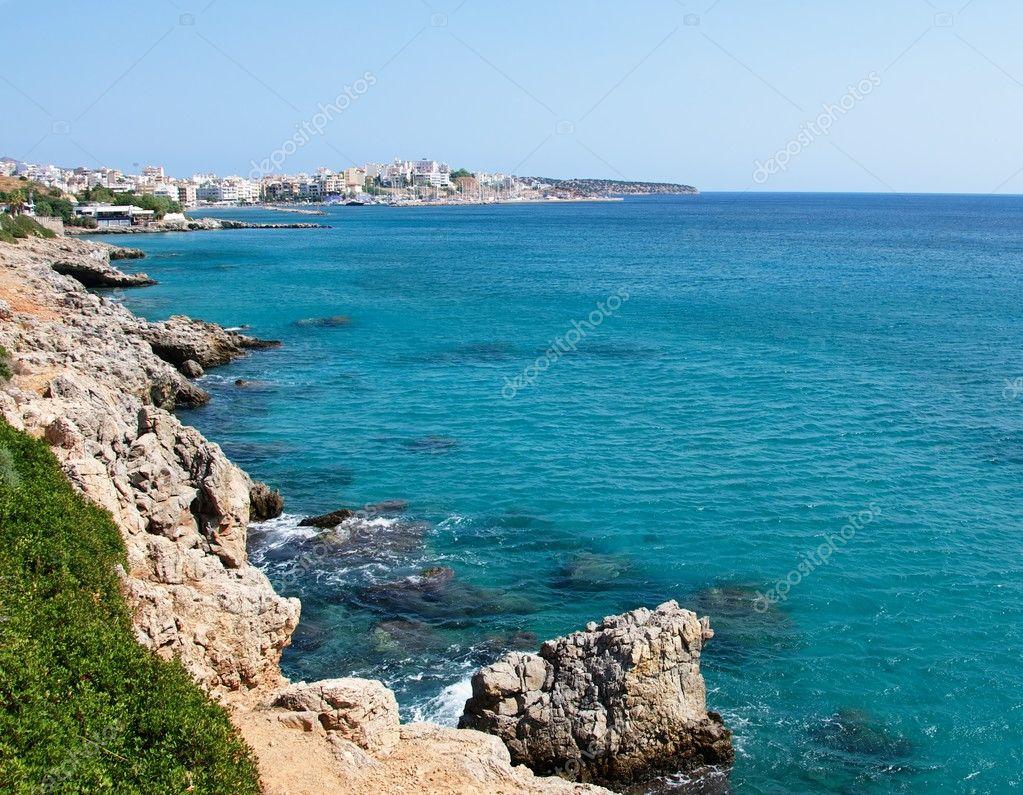 The coastal city.