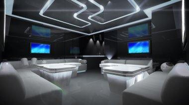Cyber interior room