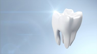 Health tooth flare
