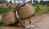Fotografia stile asiatico per biciclette in tour