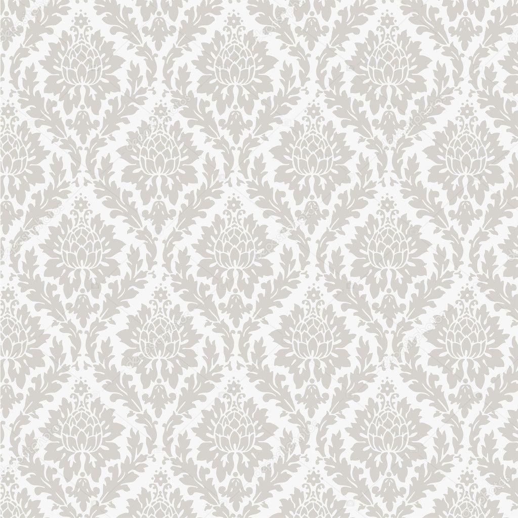 seamless wallpaper pattern stock vector volykievgenii 9133240. Black Bedroom Furniture Sets. Home Design Ideas