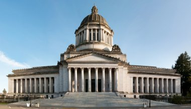 Capitol of Olympia in Washington state
