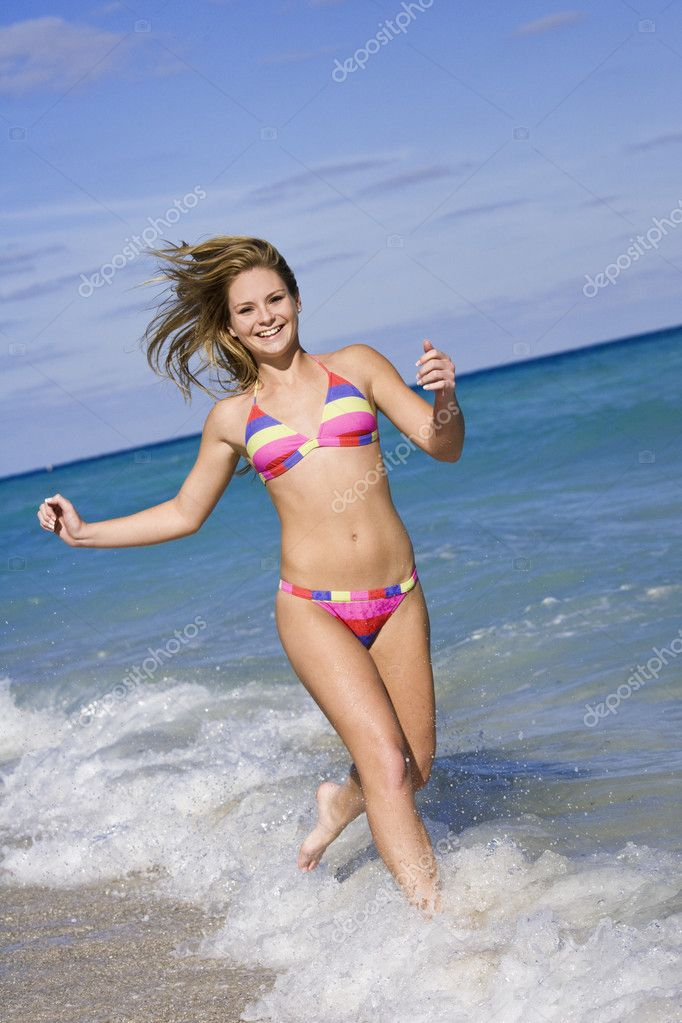 Nude teens at beach
