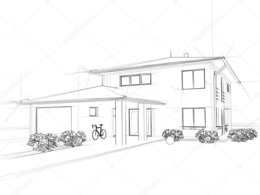 Illustation of a house.