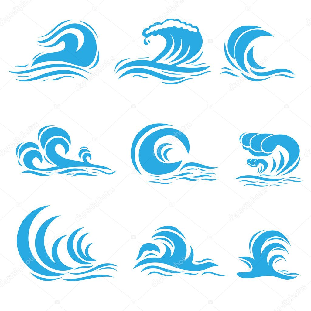 vector wave stock vector stockshoppe 10652976 rh depositphotos com waves vector free wave vector q to 2 theta