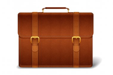 Vector Leather Briefcase