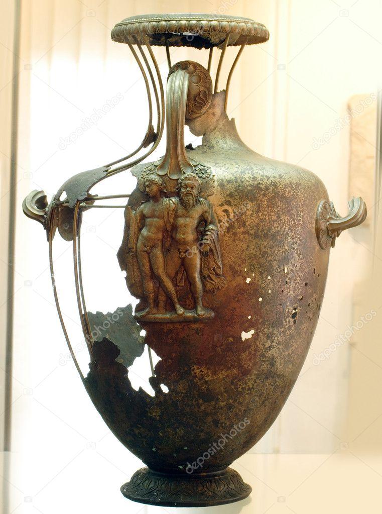 Ancient Greek Vase Stock Photo Mazzachi 9148901