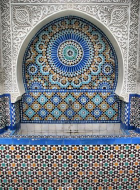 Ablution Fountain in Great Mosque of Paris