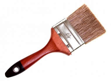 Paint Brush Isolated on white background.