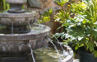 Calming Garden Waterfall