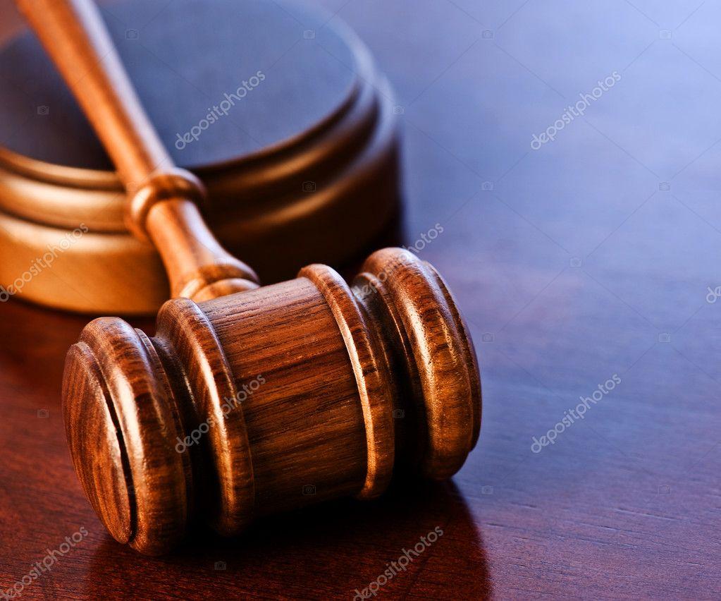 Wooden Judge's Gavel