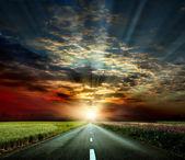 Cesta do západu slunce