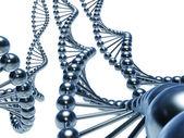 Fotografia catene di DNA
