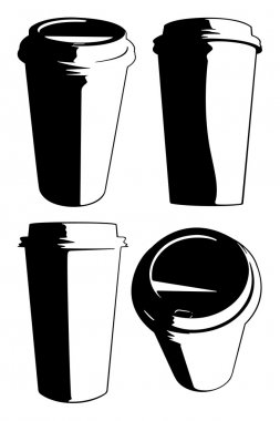 Vector Coffee Cups