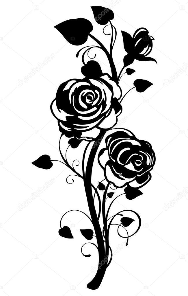 Vector rose graphic stock vector jrmurray76 9211175 vector rose graphic stock vector voltagebd Gallery